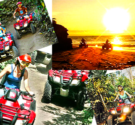 adventure atv tour in cozumel atv tour and cozumel snorkel tour after atv cozumel jungle and snorkel on a cozumel beach
