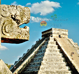 chichen itza tour is a tour of the mayan ruins of Chichen Itza from Cozumel