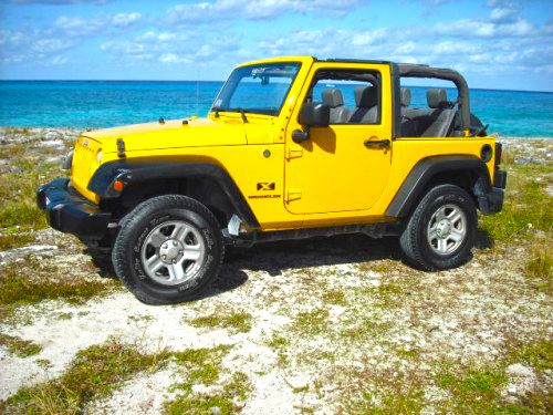 cozumel jeep rental for renting a car in Cozumel