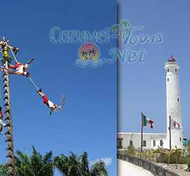 cozumel discover mexico park and punta sur park tour combo in cozumel mexico